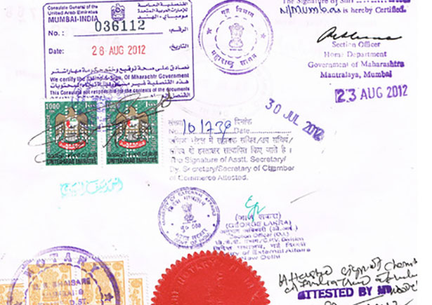 Education Certificate Attestation ! Apostille Services in India